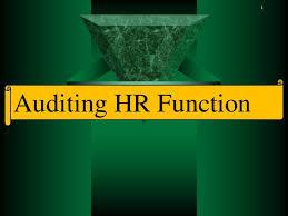 Pelatihan Auditing the HR Function