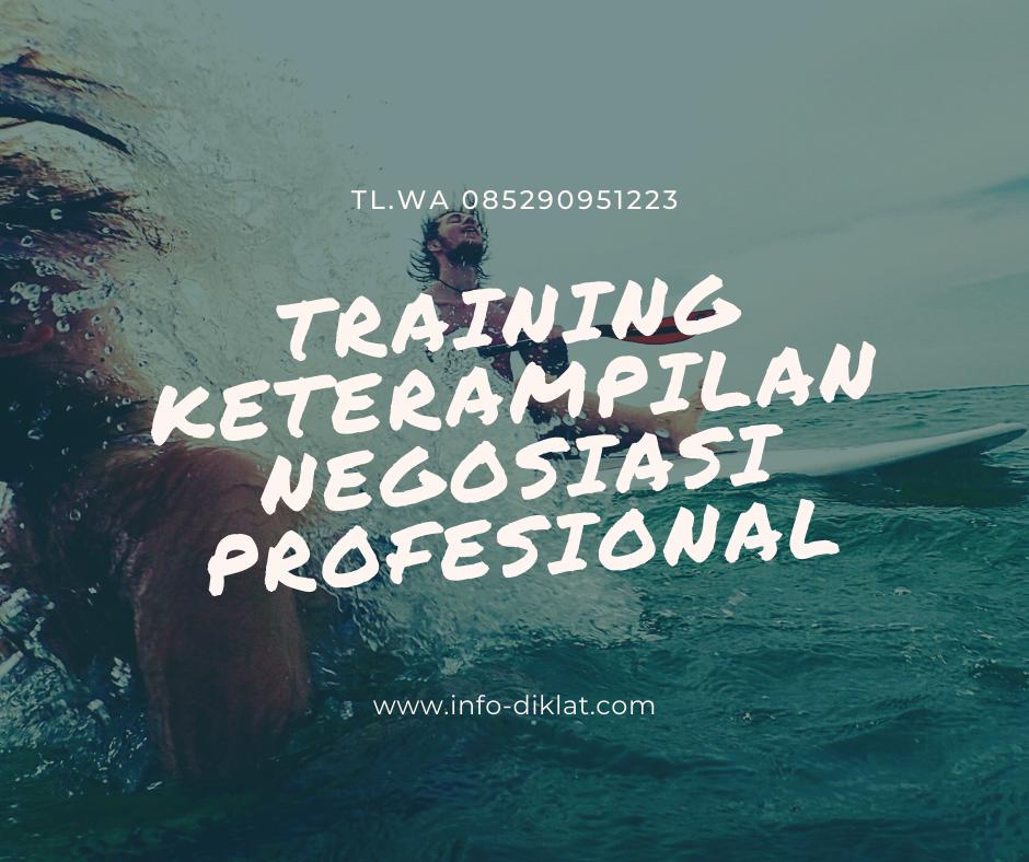 training keterampilan negosiasi profesional